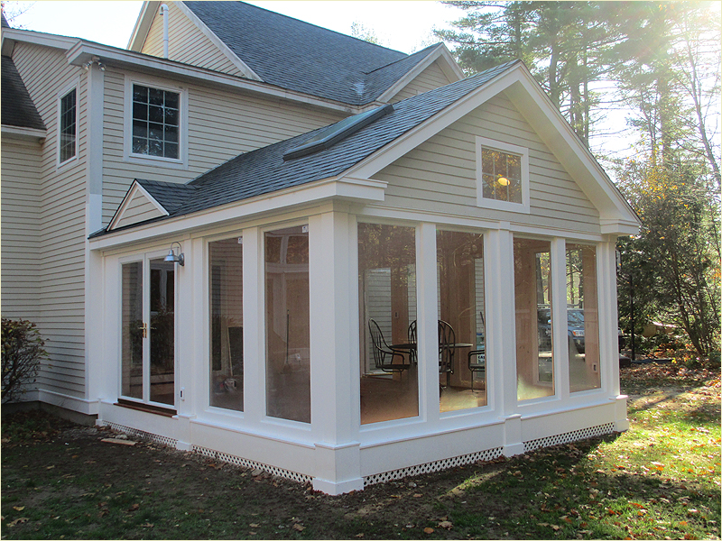 Adding A Screened Porch Autumn Breeze Screened Porch Plan