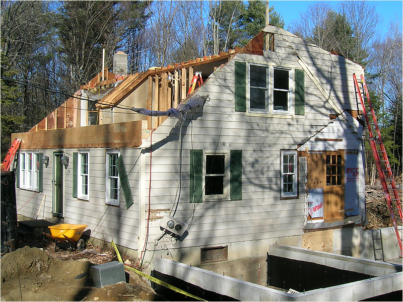 Newfields nh yard arm construction llc gallery for New home construction nh